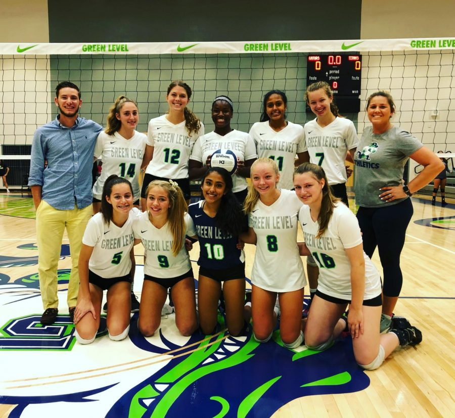 Green Level Volleyball Team Makes History