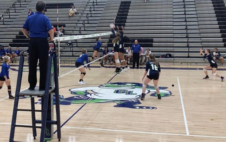 Green Level Volleyball Hitting Their Stride