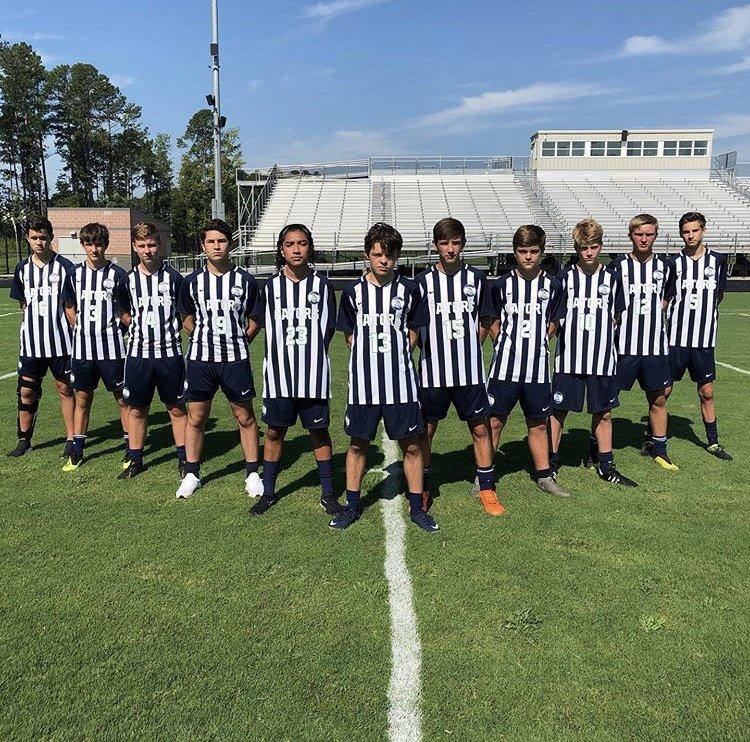 The+Green+Level+Men%27s+Varsity+Soccer+Team