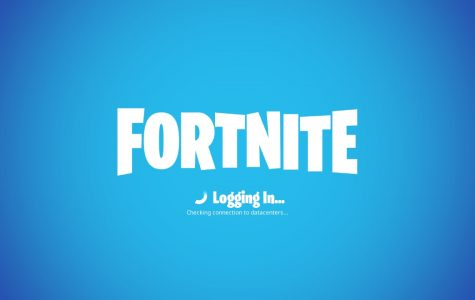 Fortnite login page.
