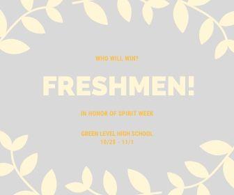 Go Freshmen!