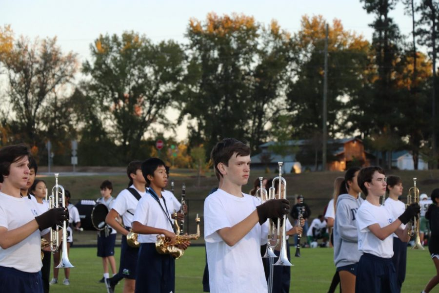 Students+from+local+middle+schools+perform+with+the+Gator+Marching+Band.