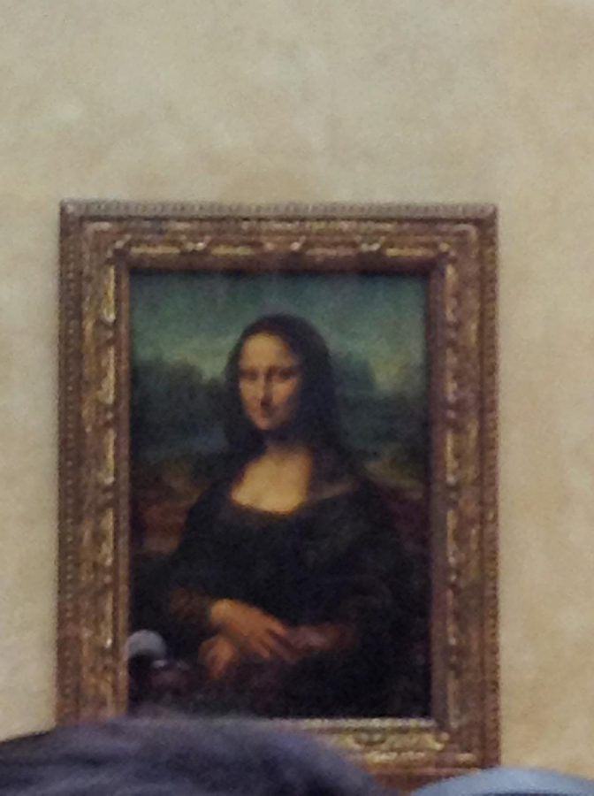 Our very own Sebastian Vargas went to Paris to view the Mona Lisa.