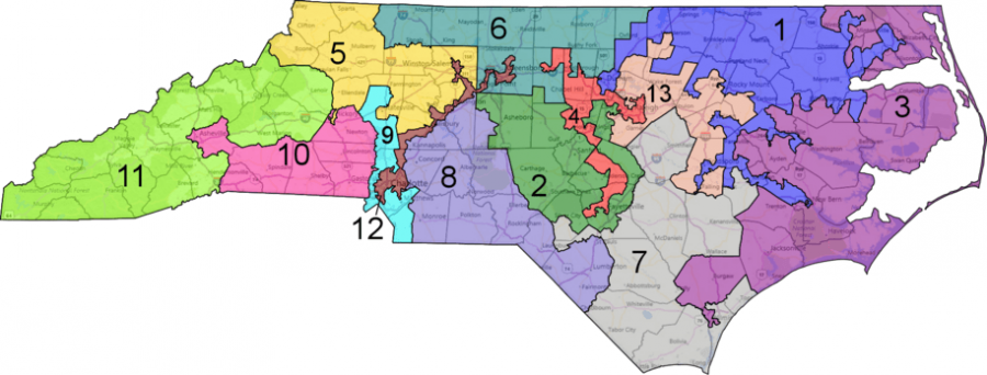 Gerrymandering+in+North+Carolina