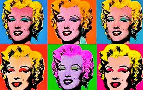 Andy Warhol was the creator of the Marilyn Monroe famous painting. (Picture found from