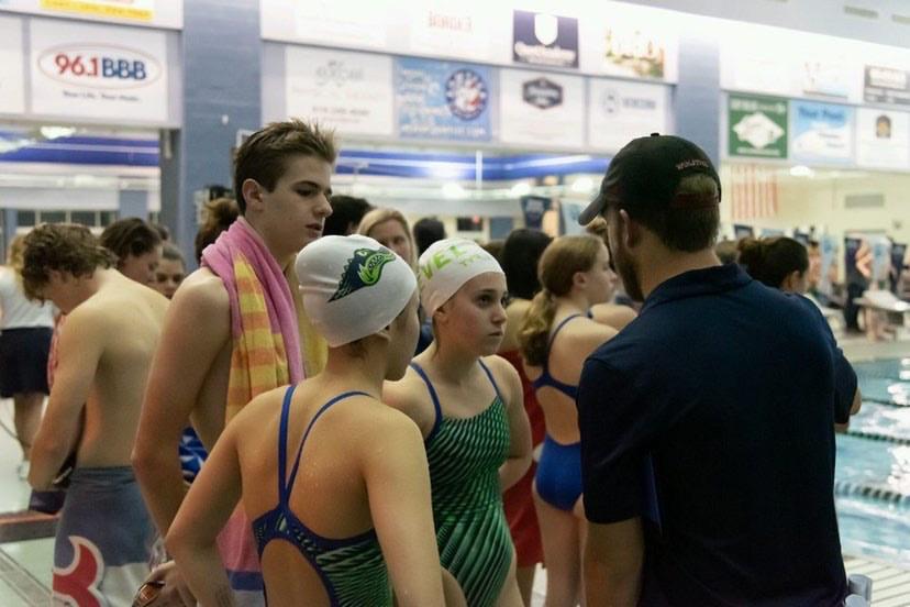 Green Level Swim Team Makes History