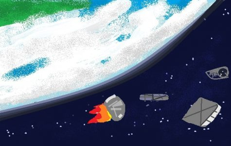 Removal of Space Junk From Orbit