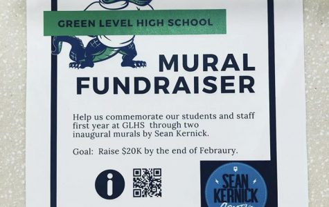 Poster describing mural fundraiser and how to donate.