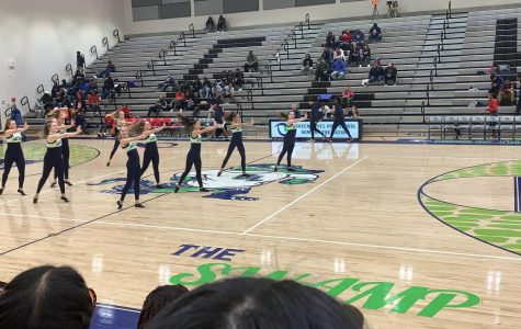 Dance Team during Basketball Halftime