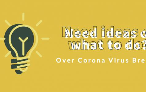 Bored because of Corona?