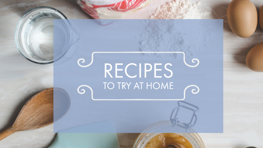 Try some baking while you're stuck at home!