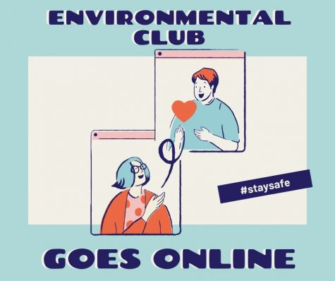 Announcements and updates from Environmental Club President, A. Guo.