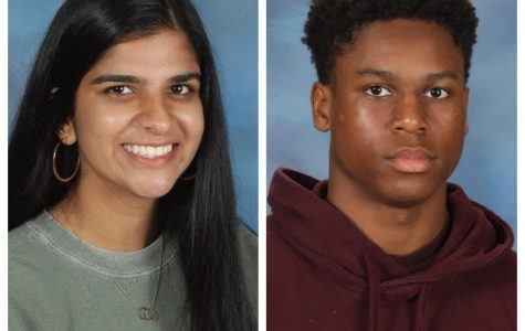 Diya Ramchandani and Cameron Chatmon are the inaugural Green Level Athletes of the Year.