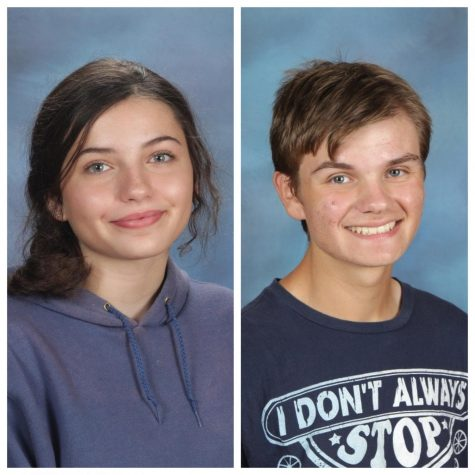 Regan Henderson and Jake Juliano--Green Level Artists of the Year.