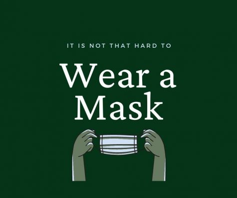 Wear A Mask - Created By A. Guo Using Canva