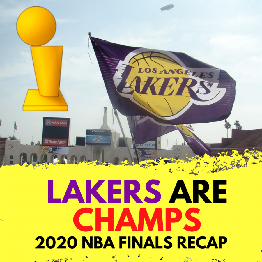 The Lakers Are World Champions!