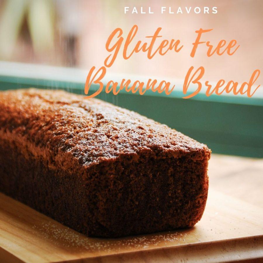 Make some delicious, gluten free banana bread!