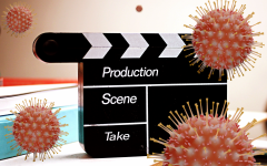 While filming, movie studios are doing everything they can to ensure the health of the cast and crew.