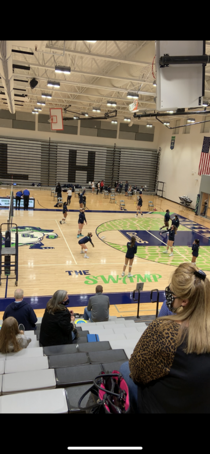 Green Level Volleyball Sweeps Jordan In Tri-8 Conference Match