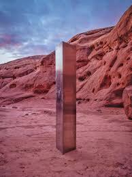 The Utah Desert Monolith