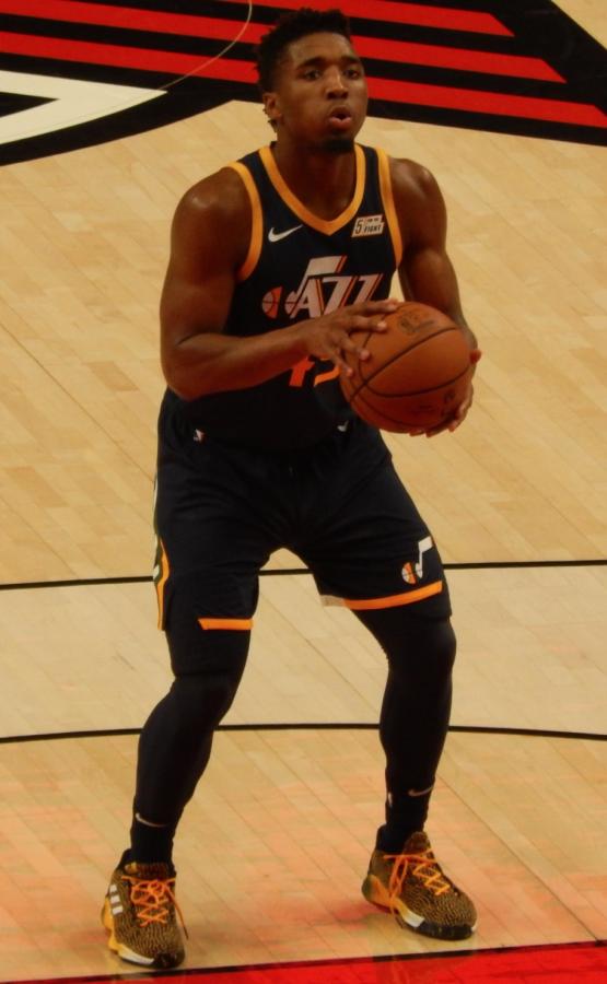 Utah Jazz Star Donovan Mitchell is a key player to Utah's hot streak.