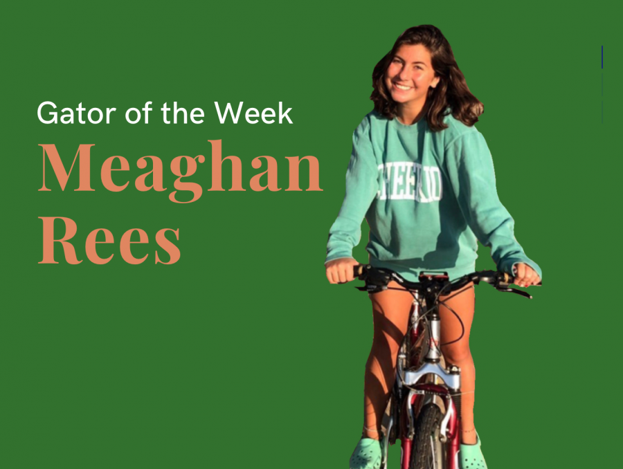 Green Level Junior Meaghan Rees is the Gator of the Week!