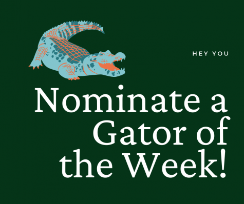 Who do you think should be Gator of the Week? Let us know!