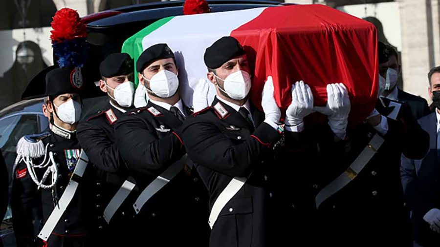 The Italian government held a state funeral for Attanasio and Iacovacci