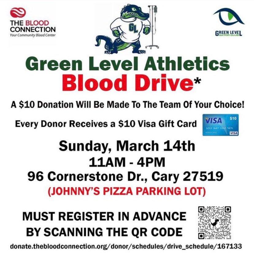 Need 10 Dollars? Donate Blood this Sunday