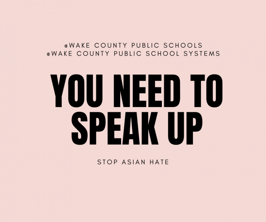 How am I to feel accepted in WCPSS and Green Level if Anti-Asian racism is not condemned?
