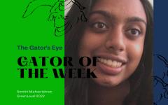 Smrithi Muthukrishnan is the Gator of the Week.