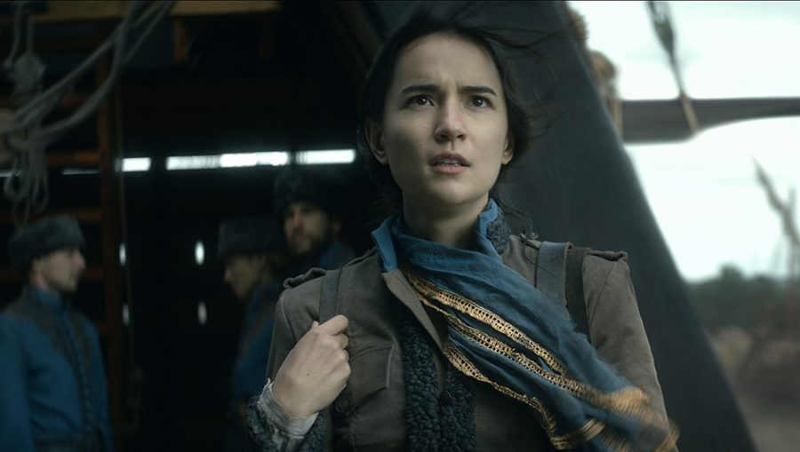 Shadow and Bone stars Jessie Mei Li as Alina Starkov, a mapmaker with a long-awaited power. (Courtesy of Netfix © 2021)