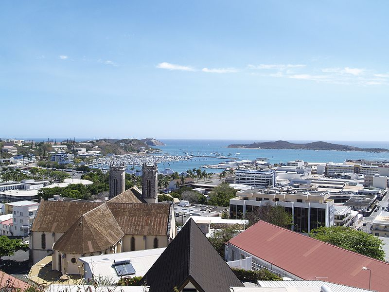 Nouméa, where the 1998 peace deal was signed.