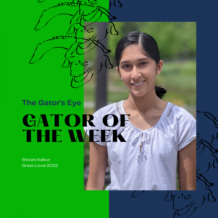 Shivani Kalkur is this week's featured gator!