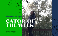 Gator of the Week Sarayu Kondaveeti discusses virtual learning and her involvement in science.