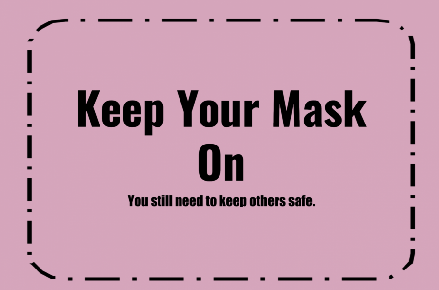Covid-19 is still real and you still need to keep your mask on.