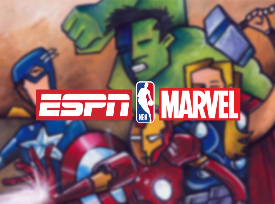 An Avengers-Themed NBA Game?