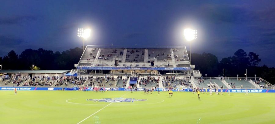 NCAA D1 Women's Soccer Cup held in Cary