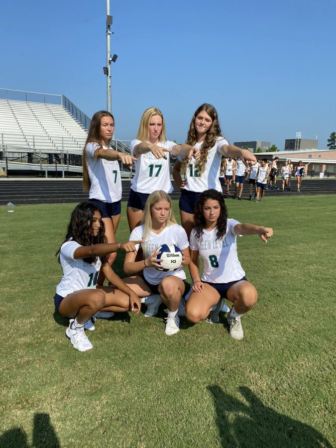 Green Level Volleyball defeated the defending State Champs 3-2.