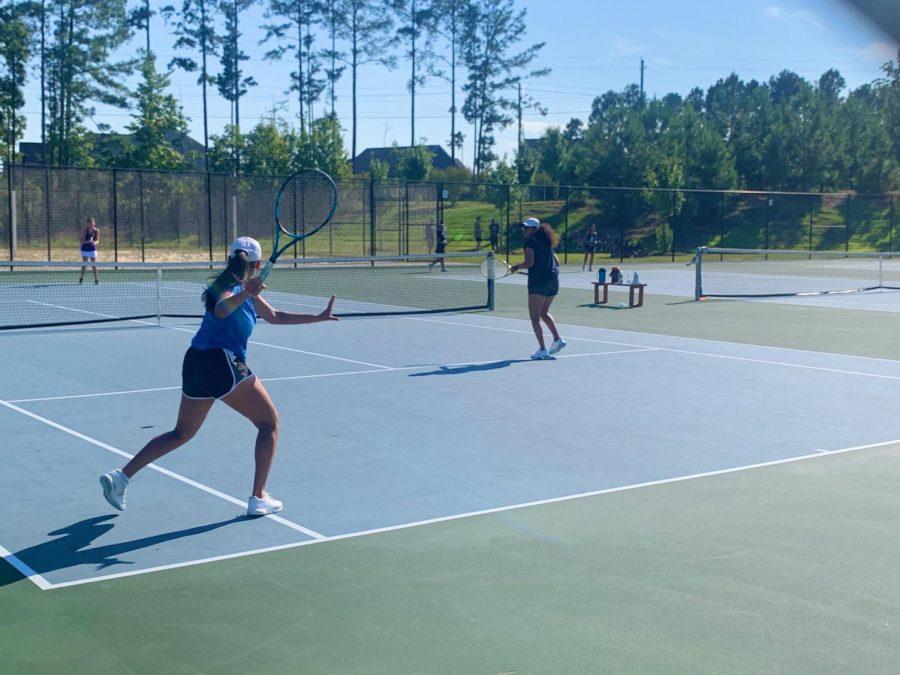 GL Womens tennis takes down Holly Springs.