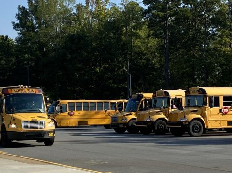 Empty buses at Green Level--why arent they being used? Listen to find out!
