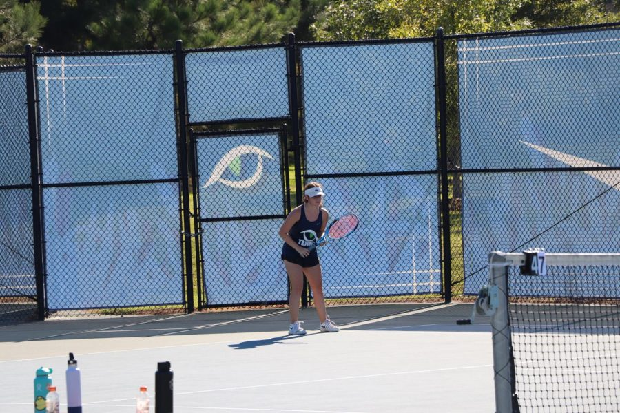 Cougars Tennis Collides with the Gators