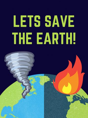 Climate change is Destroying our Earth