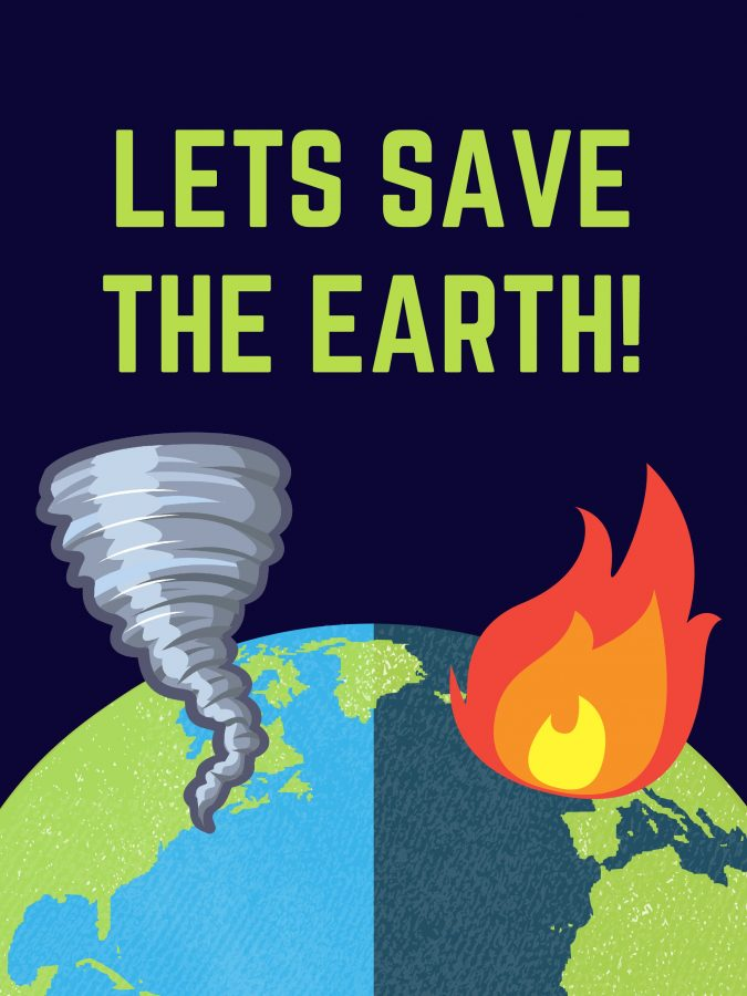 Climate+change+is+Destroying+our+Earth