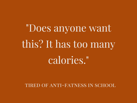 Theres an anti-fatness problem in Green Level and Wake County.