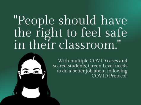 There needs to be greater accountability on students and staff for following COVID protocol.