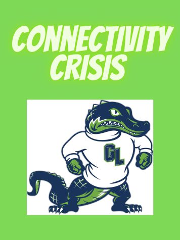Students have mixed feelings about Gator Time connectivity. Graphic by L. Willis.