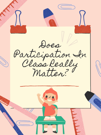 Forced participation in class can cause anxiety in students. Graphic made by M. Ford.