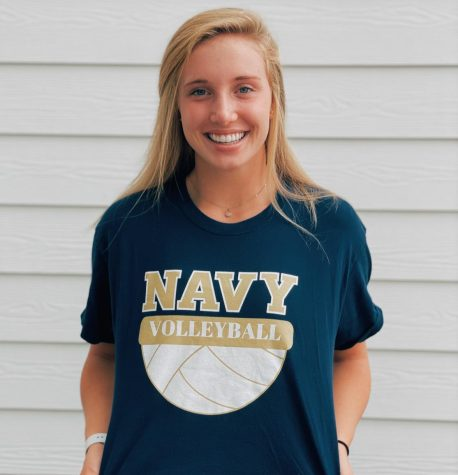 Senior, Ava Toppin commits to USNA to play Volleyball