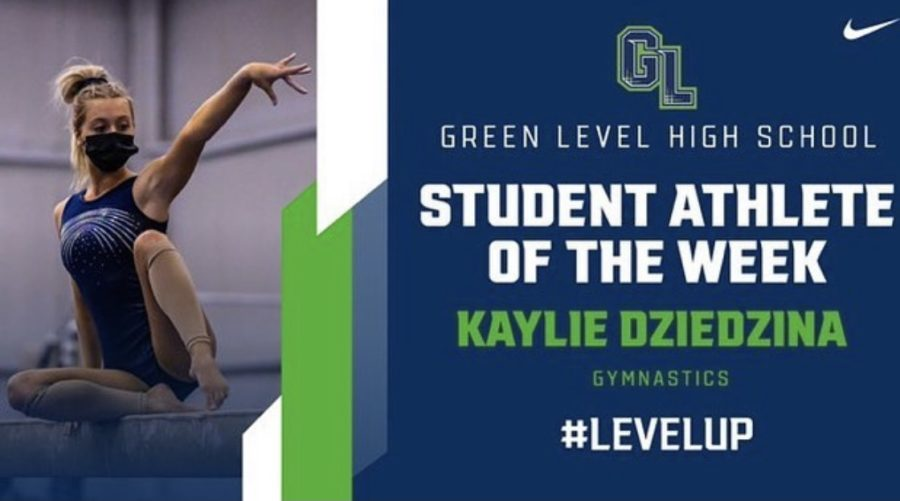 Gator Athlete of The Week : Kaylie Dziedzina